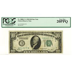 F.R.N., Philadelphia, 1928, $10 Star Note, Fr.2000-C*.