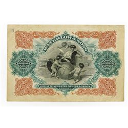 Waterlow & Son, Limited, ca.1890-1900 Advertising note.