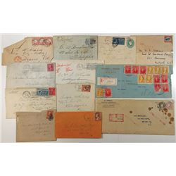 Postal History and U.S. & Worldwide Stamp lot.