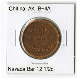 Nevada Bar, Chitina. Trade Token
