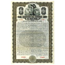 Standard Oil Co. of New York, 1921 Specimen Bond