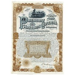 Prescott and Arizona Central Railway Co., 1885 Issued Gold Bond.