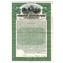 Arkansas, Louisiana and Gulf Railway Co., 1907 Issued Bond