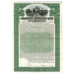 Arkansas, Louisiana and Gulf Railway Co., 1907 Issued Bond
