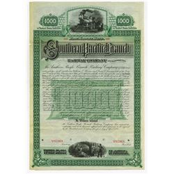 Southern Pacific Branch Railway Co. of California Bond.