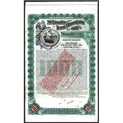 """St.Louis, Iron Mountain and Southern Railway  Co., 1903 """"River and Gulf Divisions"""" (Reissued in 1943"""