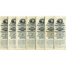 Pennsylvania, Slatington and New England Rail Road Co., 1882 6% Coupon Bond Group