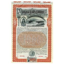 Niagara Falls Power Co. 1909 Specimen Bond.