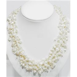 FRESHWATER PEARL FREE FLOW NECKLACE