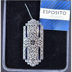 ESPOSITO DIAMONIQUE PENDANT / PIN