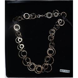 """STERLING SILVER NECKLACE 18"""" QVC"""