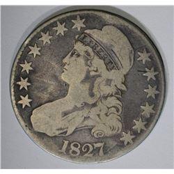 1827 BUST HALF DOLLAR O-113 A VG+