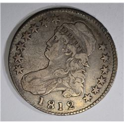 1812 BUST HALF DOLLAR, O-110, VG+