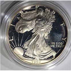 1994-P AMERICAN SILVER EAGLE DOLLAR