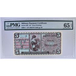 SERIES 661 $5 MILITARY PAYMENT CERTIFICATE
