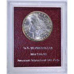 1899-O MORGAN DOLLAR RED PARAMOUNT MS65