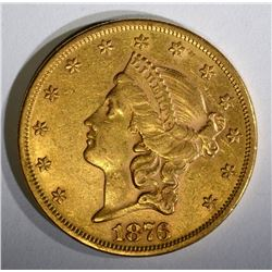 1876 TYPE-2 $20.00 LIBERTY GOLD, AU