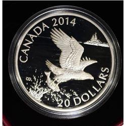 "2014 ROYAL CANADIAN MINT ""BALD EAGLE"""
