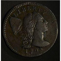 1795 LIBERTY CAP LARGE CENT XF