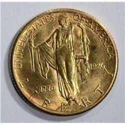 1926 $2.50 GOLD COMMEM SESQUI