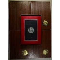 5-1971 PROOF EISENHOWER DOLLARS IN ORIG BOX