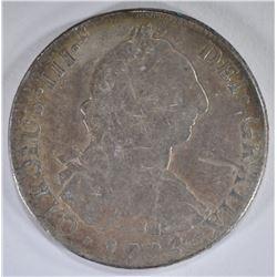 1774 MEXICO 8 REALES SILVER COIN