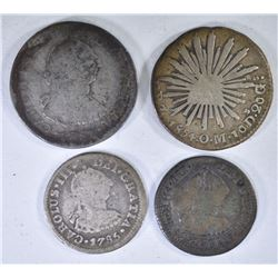 1781 & 1785 1/2 REALE MEXICO & 1781,