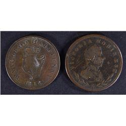 1811-13 LOWER CANADA HALF PENNY &