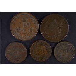 LOT: 1832 NOVA SCOTIA PENNY, 1857