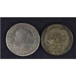 1878 DANISH WEST INDIES 5c & 1774