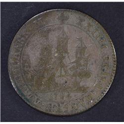 1764 DANISH WEST INDIES 24 SKILLING