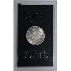 1884-CC GSA MORGAN DOLLAR, GEM BU ORIG BOX/COA