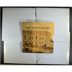 5-2001 CAPITOL VISITORS UNC CLAD HALF DOLLARS