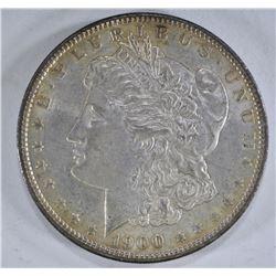 1900 MORGAN DOLLAR, CH BU
