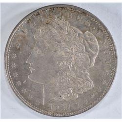 1921 MORGAN DOLLAR, CH BU