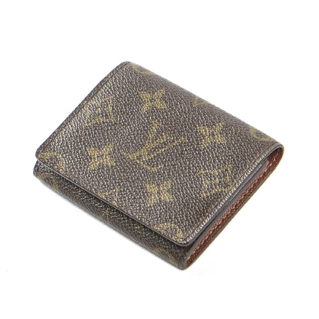 11f313bc1a84 Image 1   Louis Vuitton Business Card Holder in Brown Monogram ...