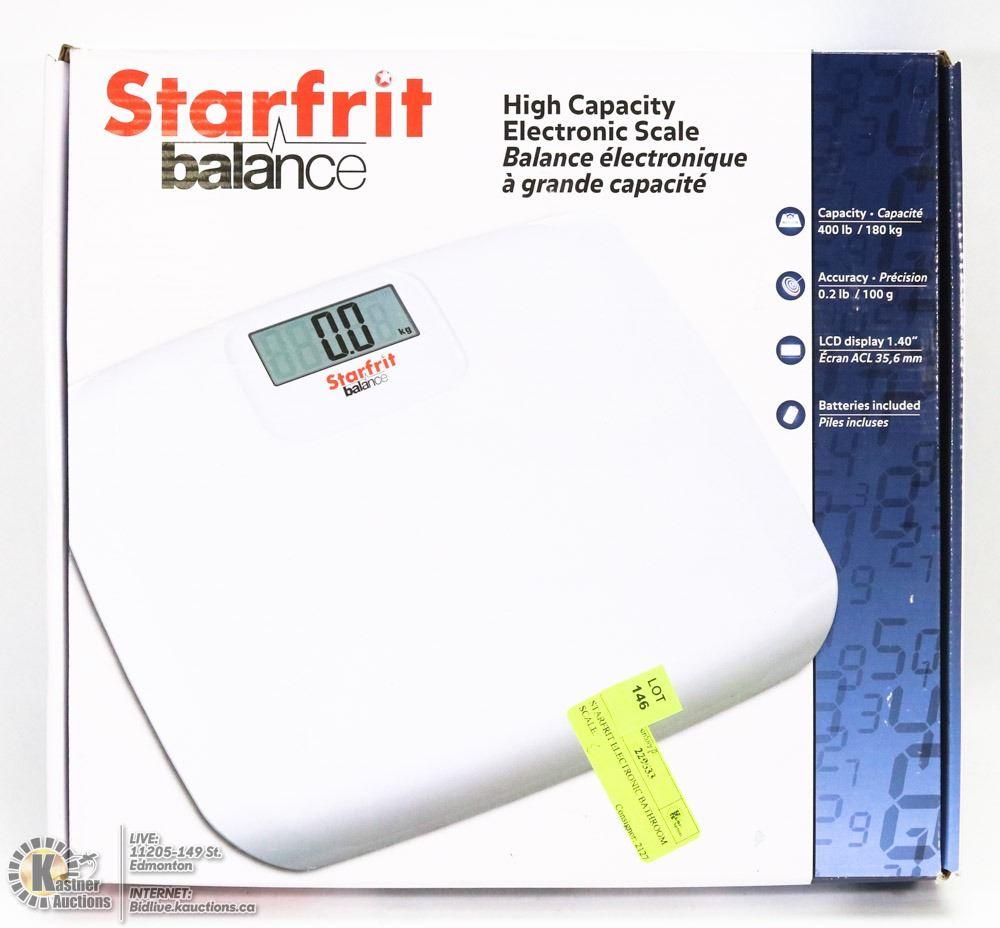 STARFRIT ELECTRONIC BATHROOM SCALE