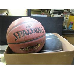 2 BasketBalls / one is a Spalding