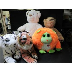 Lot of 5 Stuffed Animals
