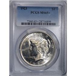 1923 PEACE DOLLAR PCGS MS-65+