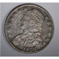 1832 CAPPED BUST HALF DOLLAR  CH.XF