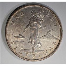 1903 SILVER PESO PHILIPPINES