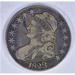 1823 BUST HALF DOLLAR F/VF