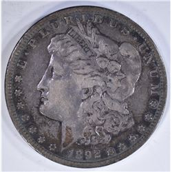 1892-S MORGAN DOLLAR VF KEY DATE