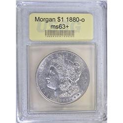 1880-O MORGAN DOLLAR USCG CH BU+