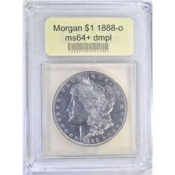 1888-O MORGAN DOLLAR USCG GEM BU