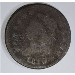 1810 LARGE CENT, AG/G