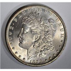 1899-O MORGAN DOLLAR, CH BU