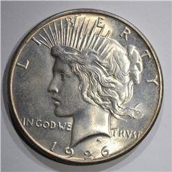 1926-S PEACE DOLLAR, CH BU