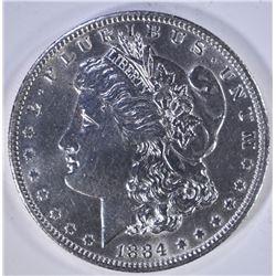 1884-O MORGAN DOLLAR CH BU CLEANED